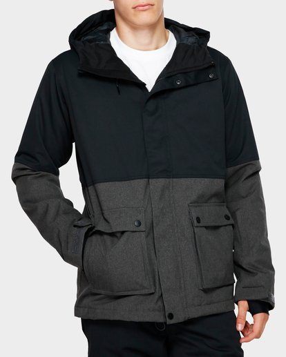 0 Fifty 50 2L 10K Jacket Grey Q6JM04S Billabong