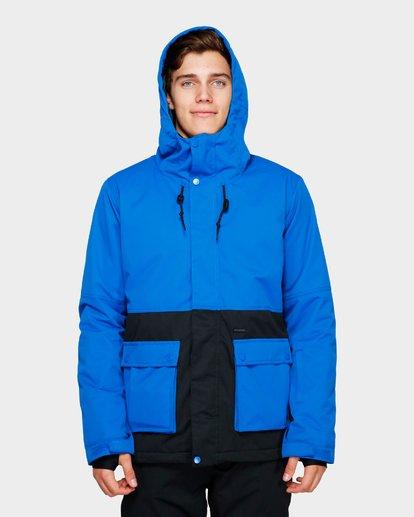 4 Fifty 50 2L 10K Jacket Blue Q6JM04S Billabong
