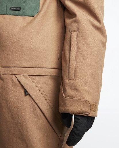 6 Fuller Suit - Snowsuit for Men Brown Q6JM05BIF9 Billabong