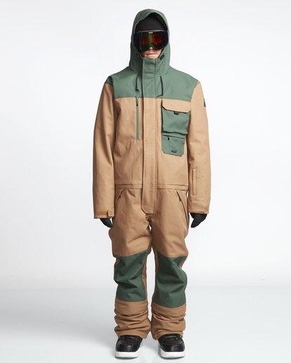 0 Fuller Suit - Snowsuit for Men Brown Q6JM05BIF9 Billabong