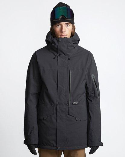 1 Delta - Chaqueta para Nieve para Hombre Negro Q6JM06BIF9 Billabong