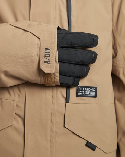 5 Delta - Snow Jacket for Men Brown Q6JM06BIF9 Billabong