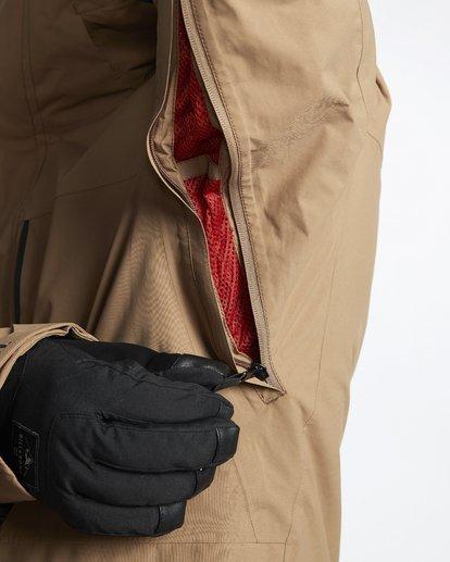7 Delta - Snow Jacket for Men Brown Q6JM06BIF9 Billabong