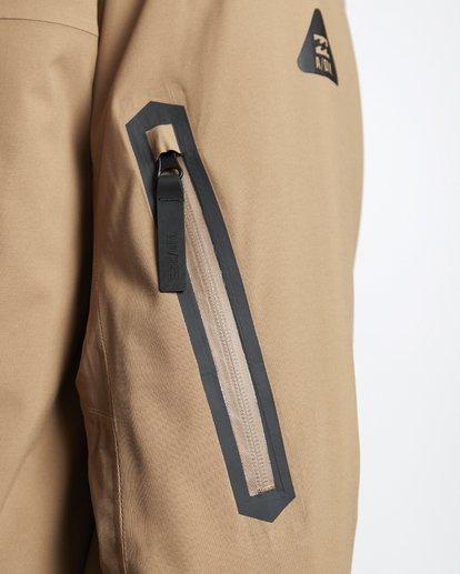 8 Delta - Snow Jacket for Men Brown Q6JM06BIF9 Billabong