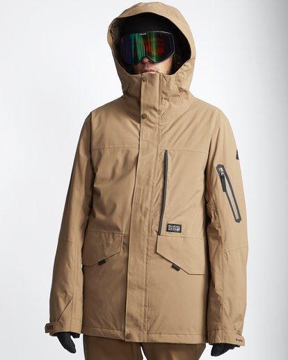 0 Delta - Snow Jacket for Men Brown Q6JM06BIF9 Billabong