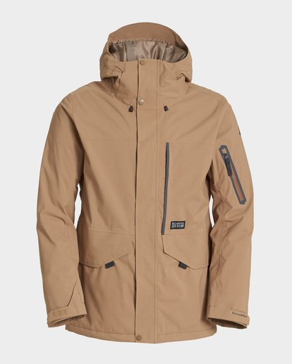 5 Delta Stx 45K Jacket Brown Q6JM06S Billabong