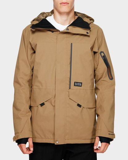 1 Delta Stx 45K Jacket Brown Q6JM06S Billabong
