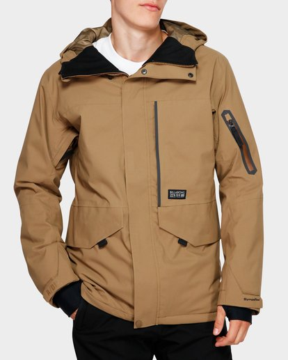 0 Delta Stx 45K Jacket Brown Q6JM06S Billabong