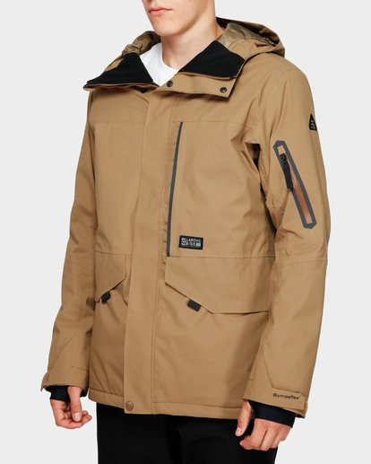 2 Delta Stx 45K Jacket Brown Q6JM06S Billabong