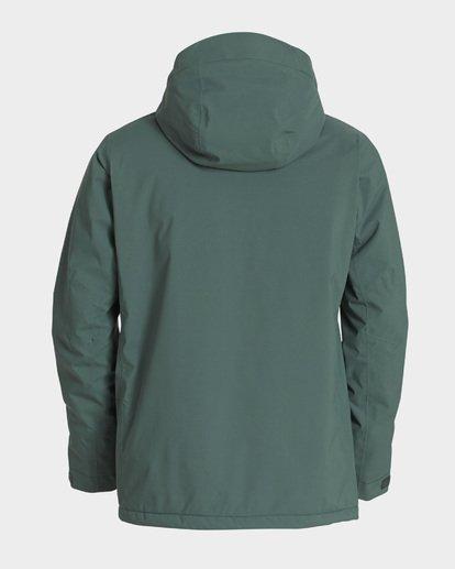 6 Prism Stx Insulated 45K Jacket Green Q6JM07S Billabong
