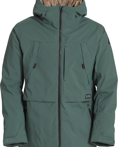 5 Prism Stx Insulated 45K Jacket Green Q6JM07S Billabong