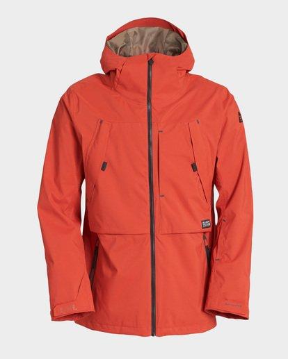 5 Prism Stx Insulated 45K Jacket Red Q6JM07S Billabong