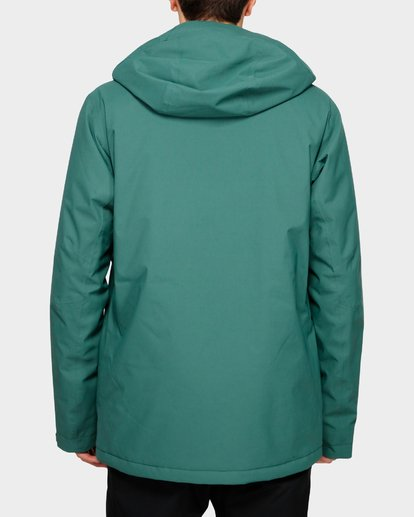 3 Prism Stx Insulated 45K Jacket Green Q6JM07S Billabong