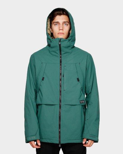 4 Prism Stx Insulated 45K Jacket Green Q6JM07S Billabong