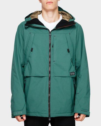 1 Prism Stx Insulated 45K Jacket Green Q6JM07S Billabong