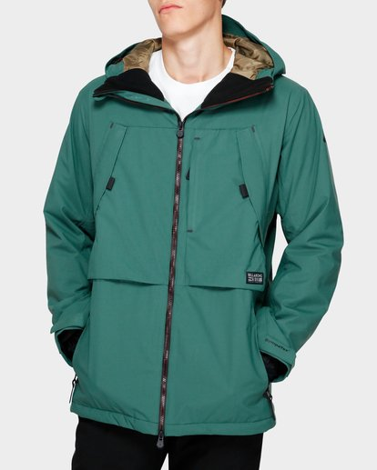 0 Prism Stx Insulated 45K Jacket Green Q6JM07S Billabong