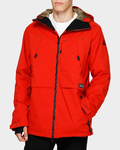 0 Prism Stx Insulated 45K Jacket Red Q6JM07S Billabong