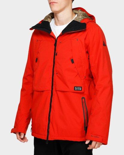 2 Prism Stx Insulated 45K Jacket Red Q6JM07S Billabong