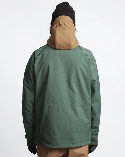 2 Downhill - Softshell Snow Jacket for Men Green Q6JM09BIF9 Billabong