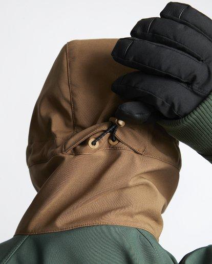 7 Downhill - Softshell Snow Jacket for Men Green Q6JM09BIF9 Billabong