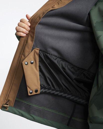 8 Downhill - Softshell Snow Jacket for Men Green Q6JM09BIF9 Billabong