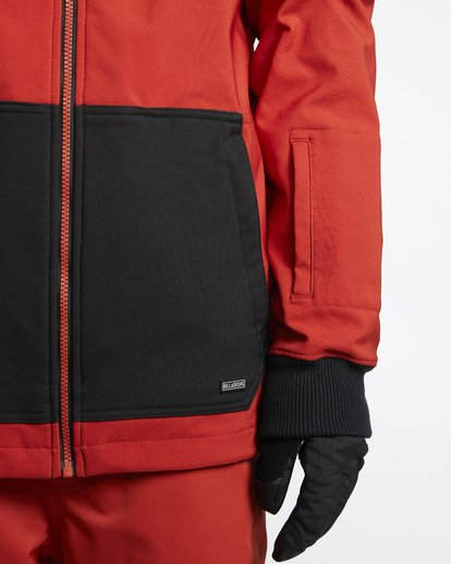 5 Downhill - Chaqueta Softshell para Nieve para Hombre Rojo Q6JM09BIF9 Billabong