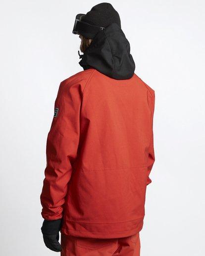 4 Downhill - Chaqueta Softshell para Nieve para Hombre Rojo Q6JM09BIF9 Billabong