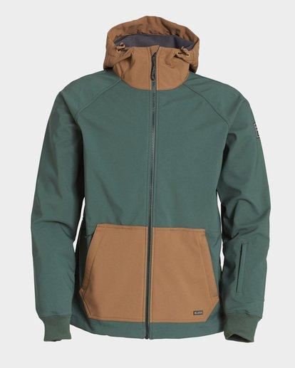 6 Downhill 3L 10K Jacket Green Q6JM09S Billabong