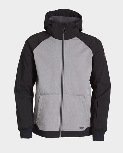 5 Downhill 3L 10K Jacket Grey Q6JM09S Billabong