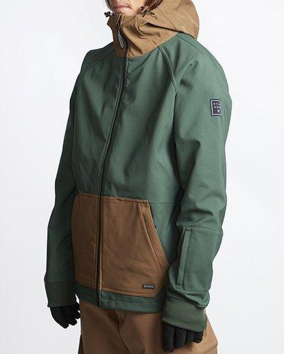 2 Downhill 3L 10K Jacket Green Q6JM09S Billabong