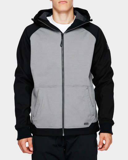 1 Downhill 3L 10K Jacket Grey Q6JM09S Billabong