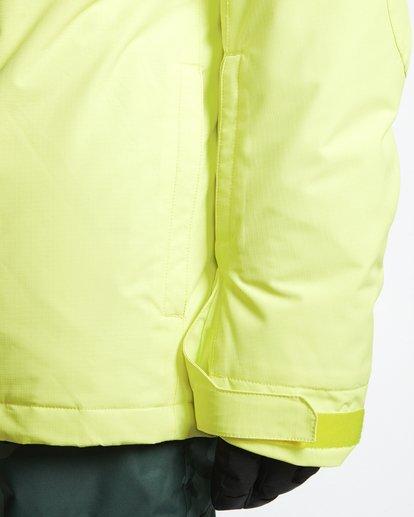6 Shadow - Snow Jacket for Men Yellow Q6JM10BIF9 Billabong