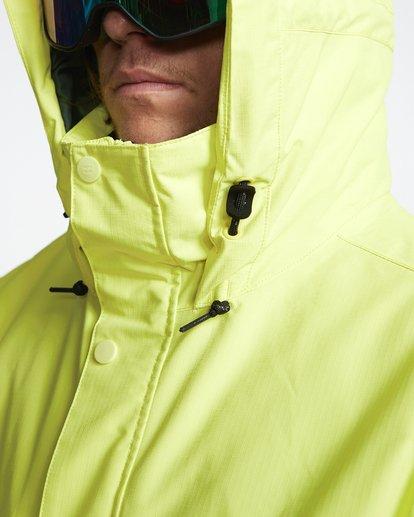 7 Shadow - Snow Jacket for Men Yellow Q6JM10BIF9 Billabong