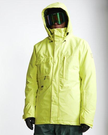 0 Shadow - Snow Jacket for Men Yellow Q6JM10BIF9 Billabong