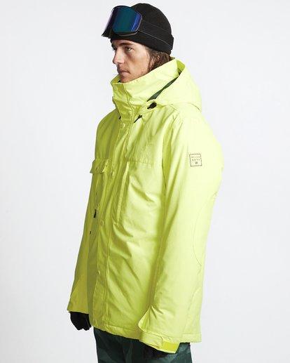 3 Shadow - Snow Jacket for Men Yellow Q6JM10BIF9 Billabong