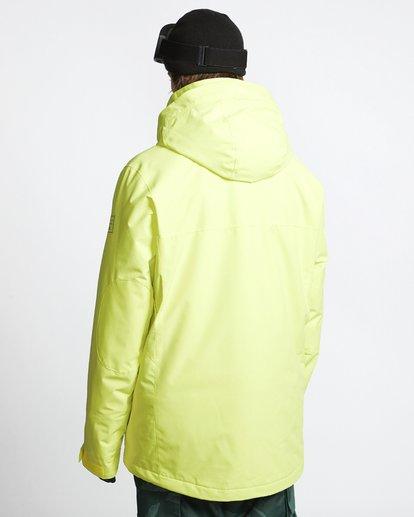 4 Shadow - Snow Jacket for Men Yellow Q6JM10BIF9 Billabong