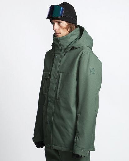 2 Shadow 2L 10K Jacket Green Q6JM10S Billabong
