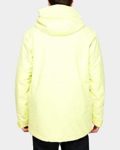3 Shadow 2L 10K Jacket Yellow Q6JM10S Billabong