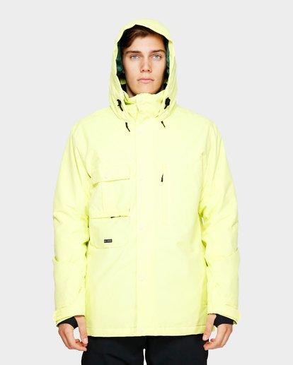 4 Shadow 2L 10K Jacket Yellow Q6JM10S Billabong