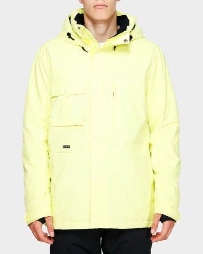 1 Shadow 2L 10K Jacket Yellow Q6JM10S Billabong