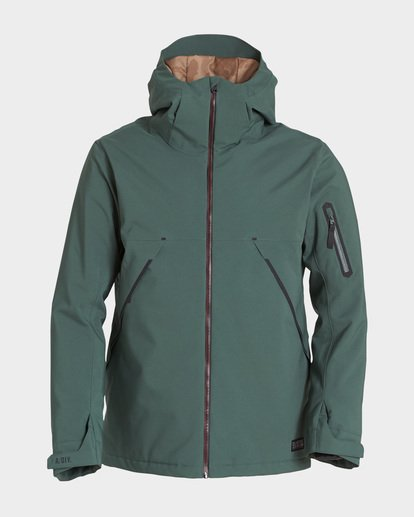 5 EXPEDITION 2L 15K JACKET Green Q6JM12S Billabong
