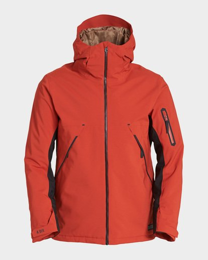 5 Expedition 2L 15K Jacket Red Q6JM12S Billabong