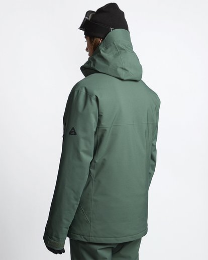 3 EXPEDITION 2L 15K JACKET Green Q6JM12S Billabong