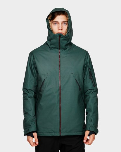 4 EXPEDITION 2L 15K JACKET Green Q6JM12S Billabong