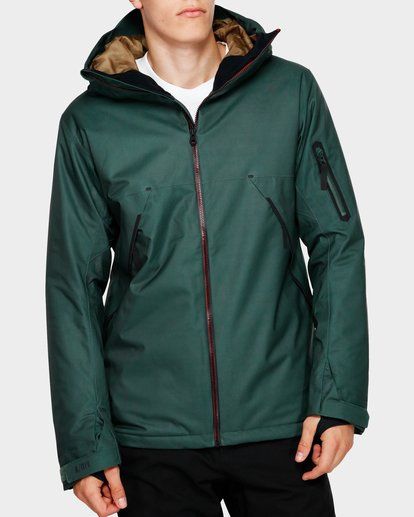 0 Expedition 2L 15K Jacket Green Q6JM12S Billabong