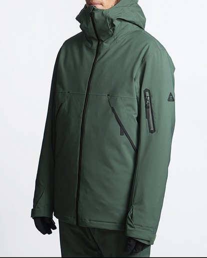 2 Expedition 2L 15K Jacket Green Q6JM12S Billabong