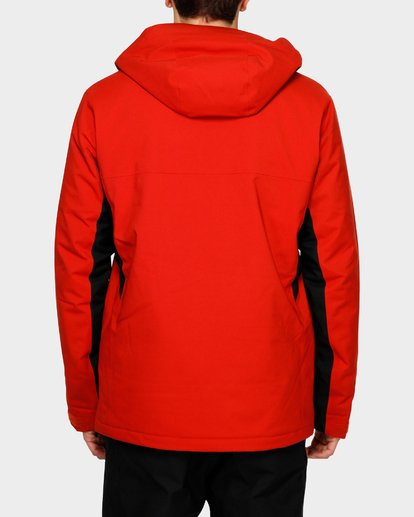 3 Expedition 2L 15K Jacket Red Q6JM12S Billabong