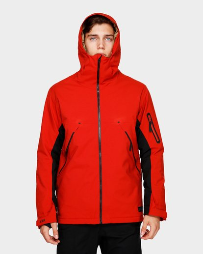 4 Expedition 2L 15K Jacket Red Q6JM12S Billabong