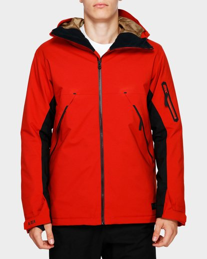 1 Expedition 2L 15K Jacket Red Q6JM12S Billabong