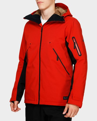 2 Expedition 2L 15K Jacket Red Q6JM12S Billabong
